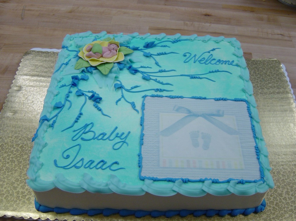 Classic Baby Shower Cakes