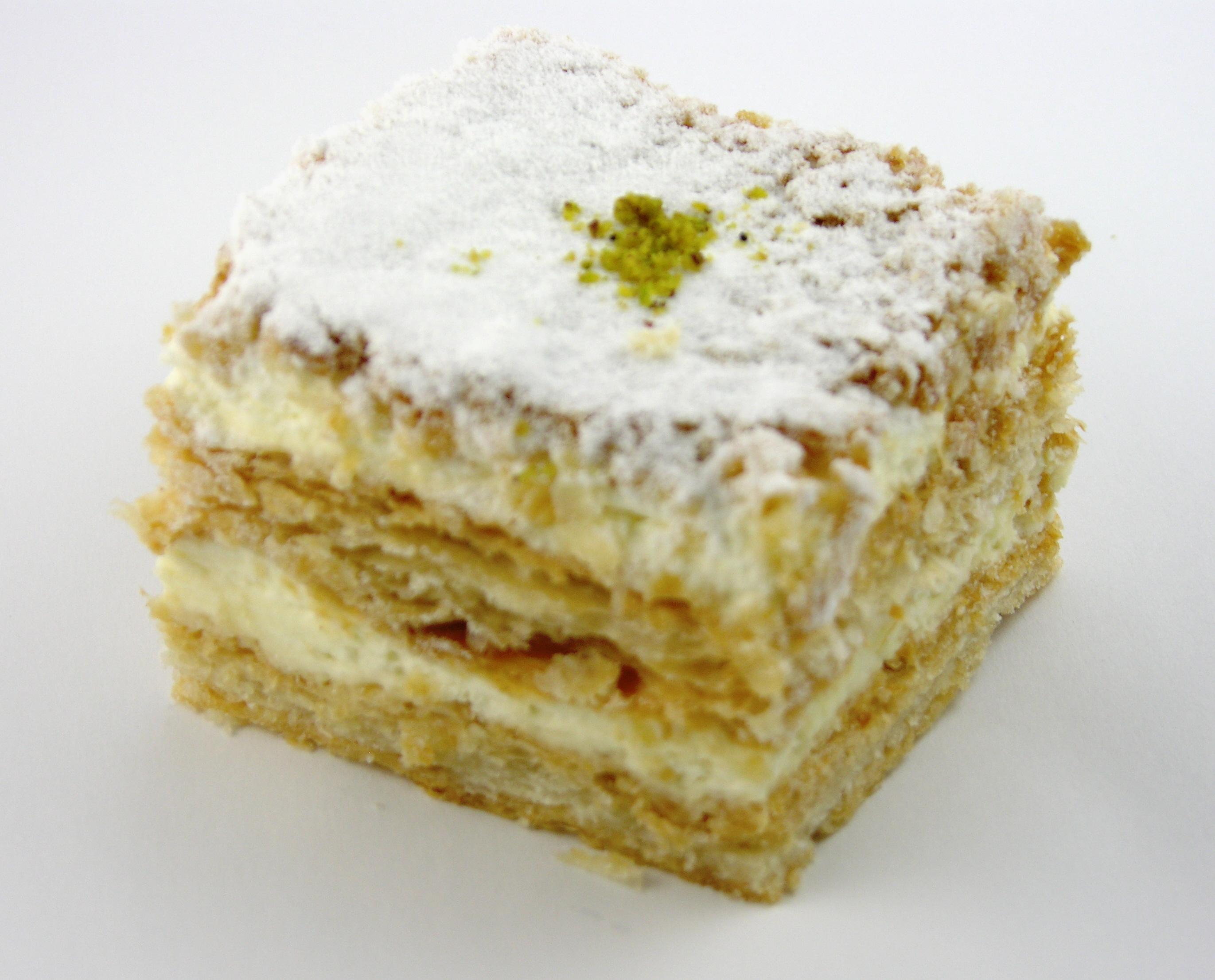Cream Napoleon Classic Bakery