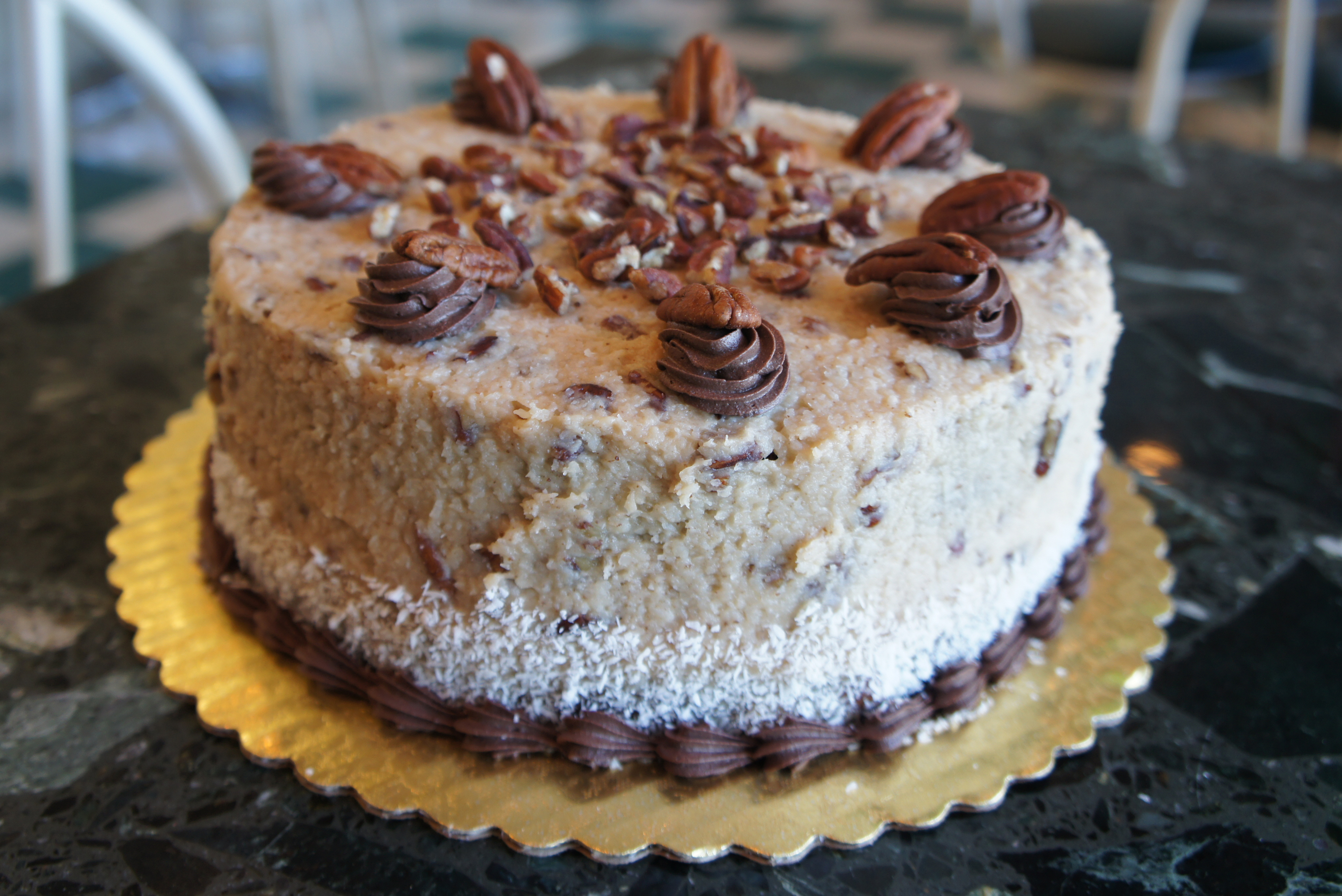 Bakery german chocolate cake thin blog for Classic bake house