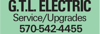 G.T.L. ELECTRIC Service/Upgrades 570-542-4455