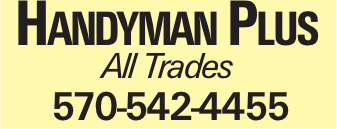 Handyman Plus All Trades 570-542-4455