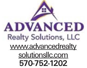 www.advancedrealty solutionsllc.com 570-752-1202