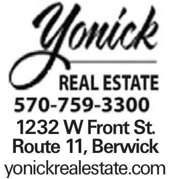 1232 W Front St. Route 11, Berwick yonickrealestate.com