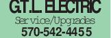 G.T.L. ELECTRIC Service/Upgrades 570-542-4455
