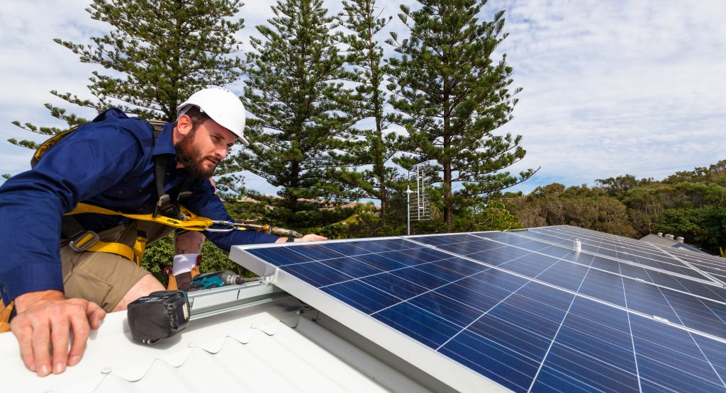 solar installer is a great clean energy job
