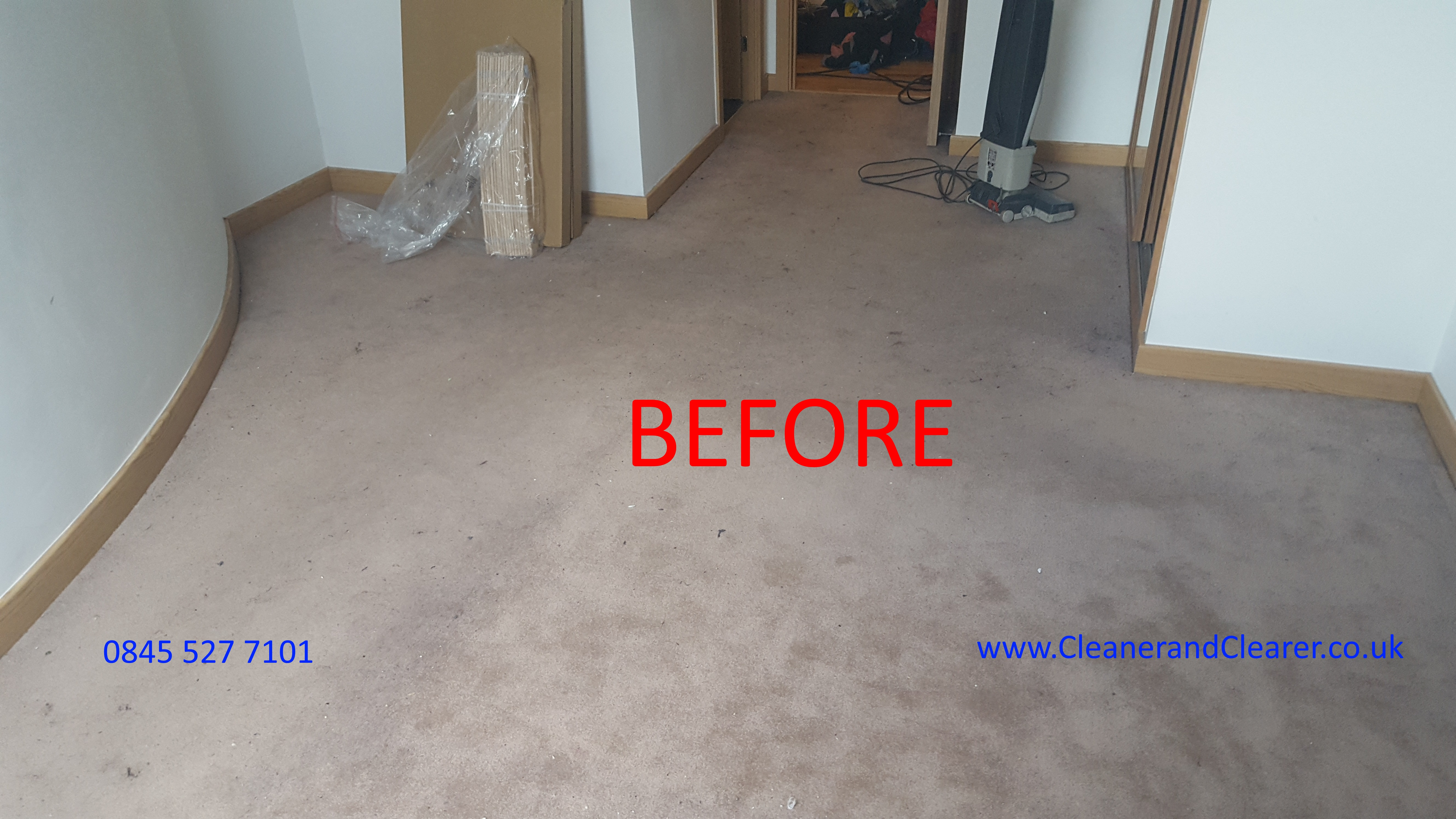 Carpet Clean Carried Out In Hitchin
