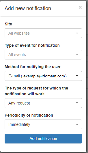 Website Event Notifications 3