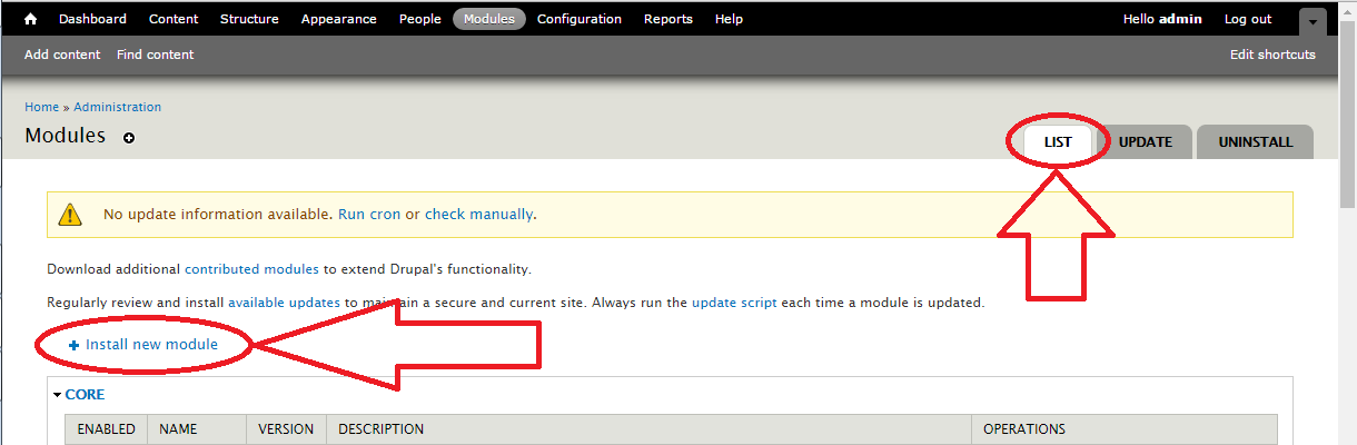 Dupal 7 anti-spam module install