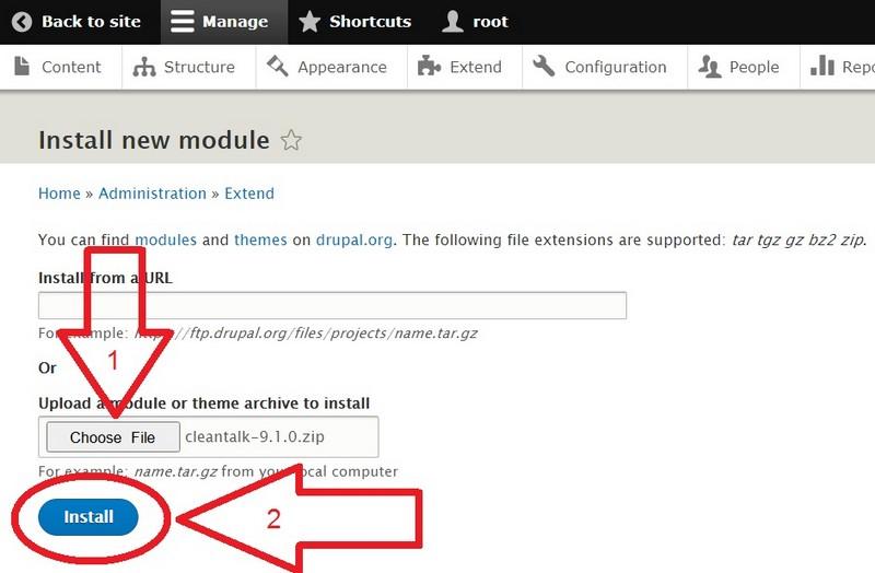 Drupal 9 install anti-spam plugin