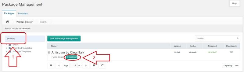 Cleantalk Anti-Spam module download