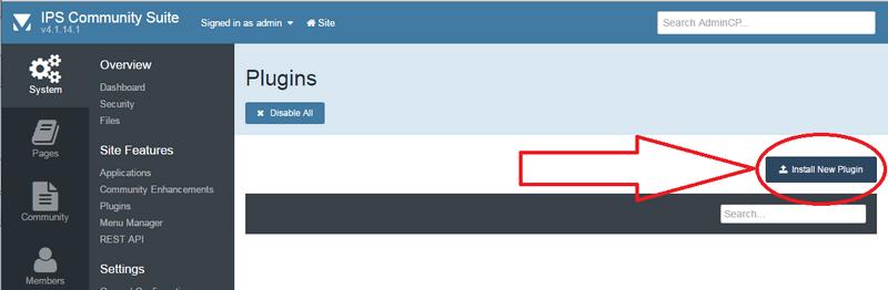 IPS 4 anti-spam install