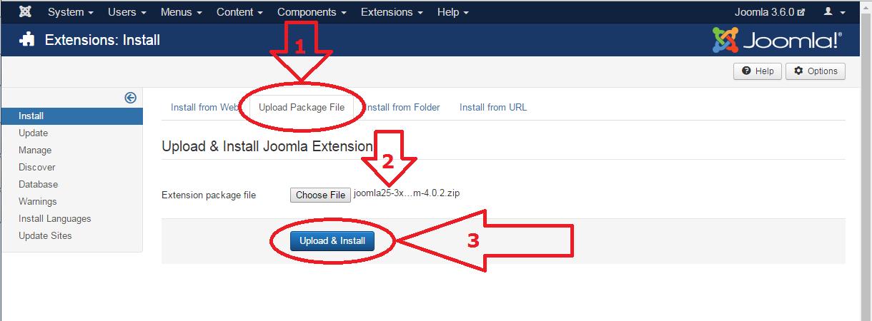 Joomla 3 anti-spam plugin install