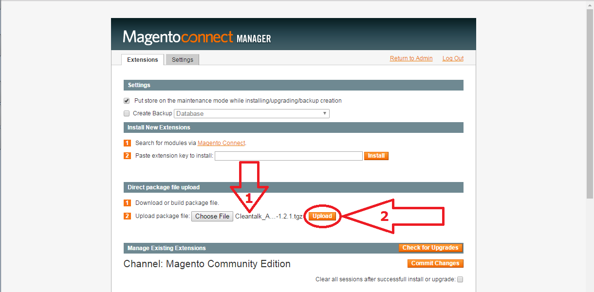 Magento 1.9 anti-spam plugin install