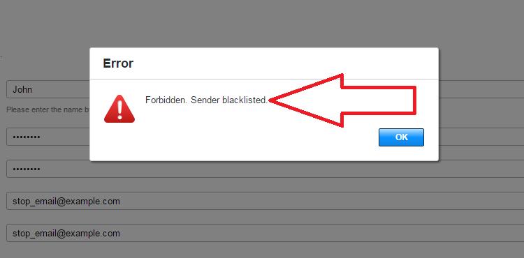 VBuletin 5 spam registration block