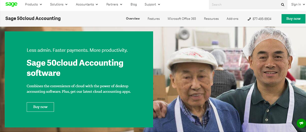 Sage 50cloud is an alternative to QuickBooks