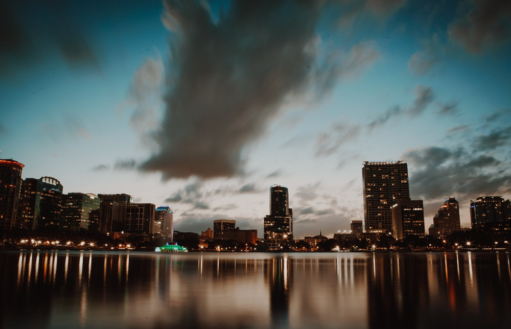 time lapsed photography of cityscape (moving to Orlando)