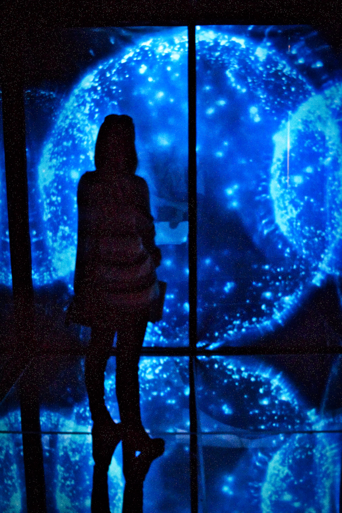 The Insanely Beautiful Infinity Cube Exhibit Is Now Open At The Birch Aquarium