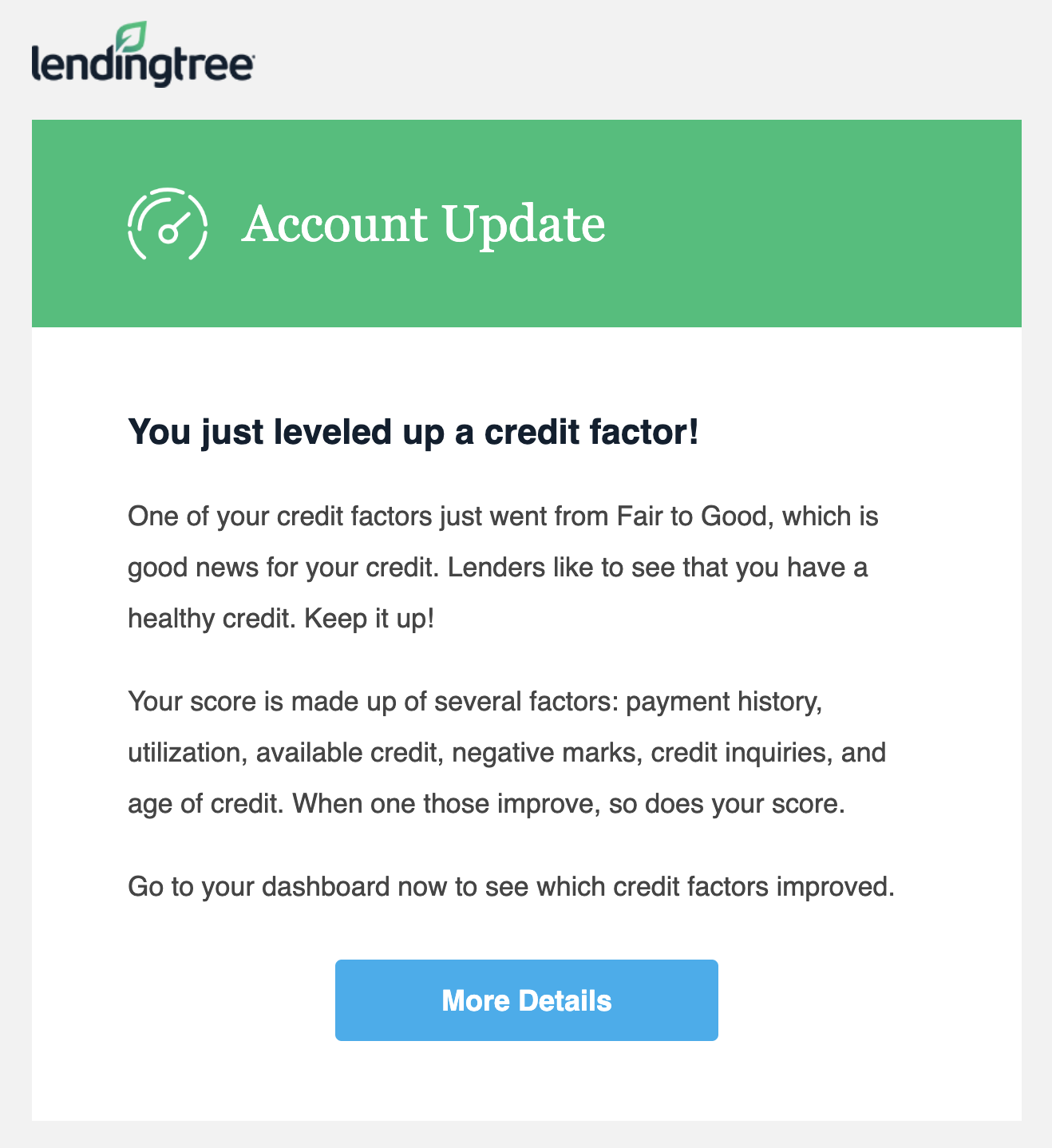 lendingtree call to action example