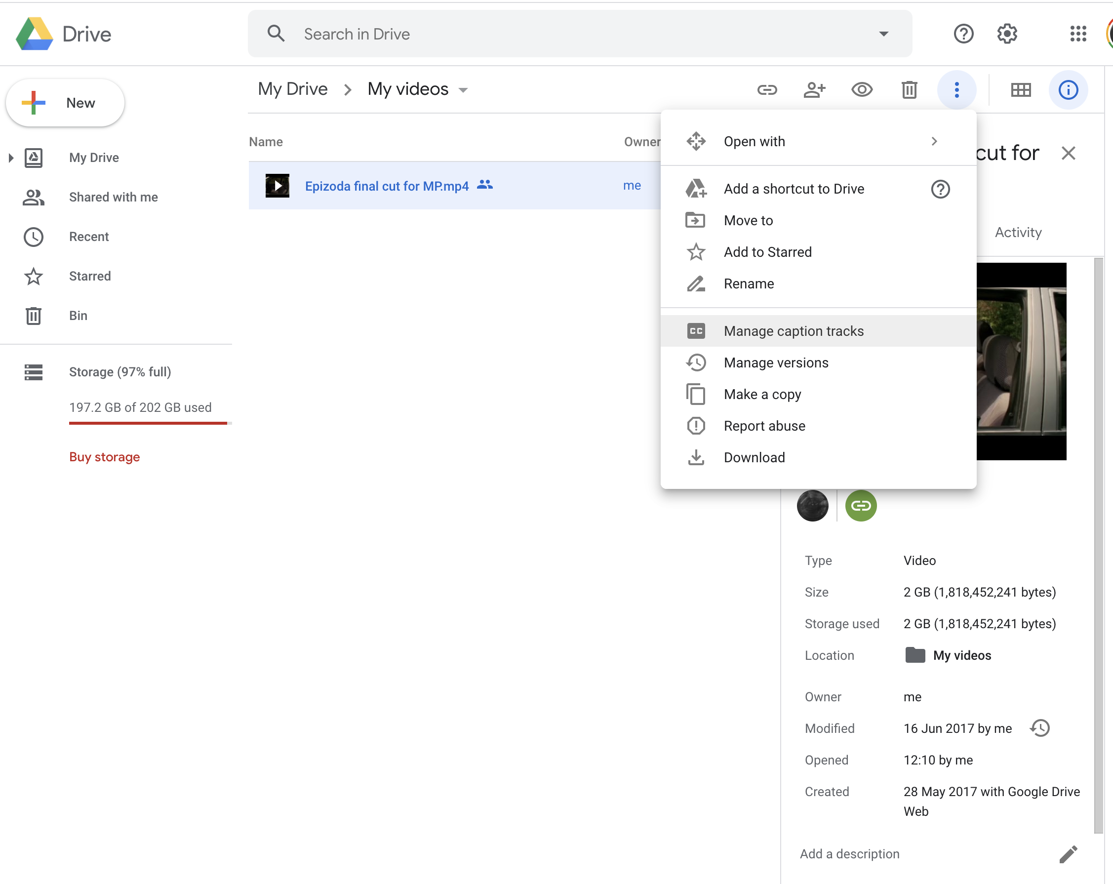 How To Add Captions And Subtitles To Videos In Google Drive Rev