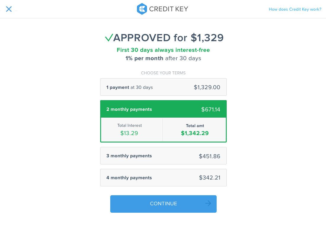 Credit Key BNPL for B2B