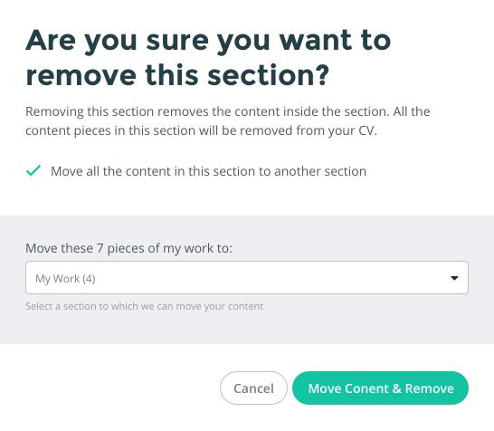 building your cv portfolio clearvoice help center