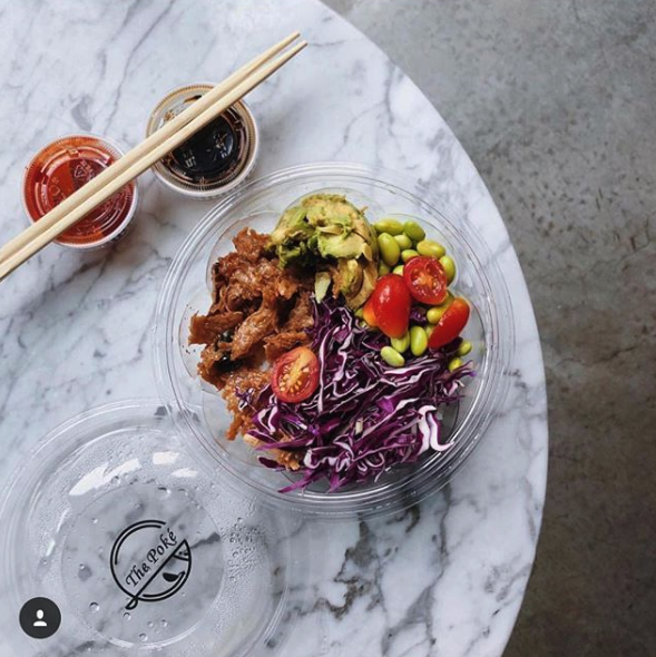 Catering ideas for comforting vegan comfort foods: Vegan protein poke bowl | Image: The Poké / Instagram