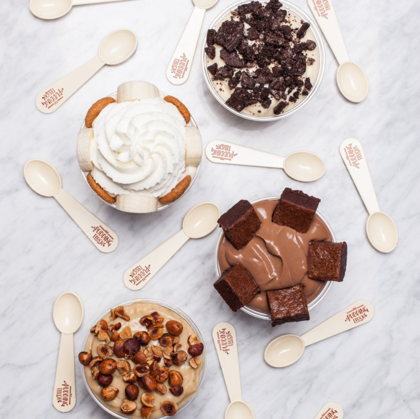 The Pudding Truck Catering's Carrie Cohen has an unstoppable passion for delivering pudding to eaters.