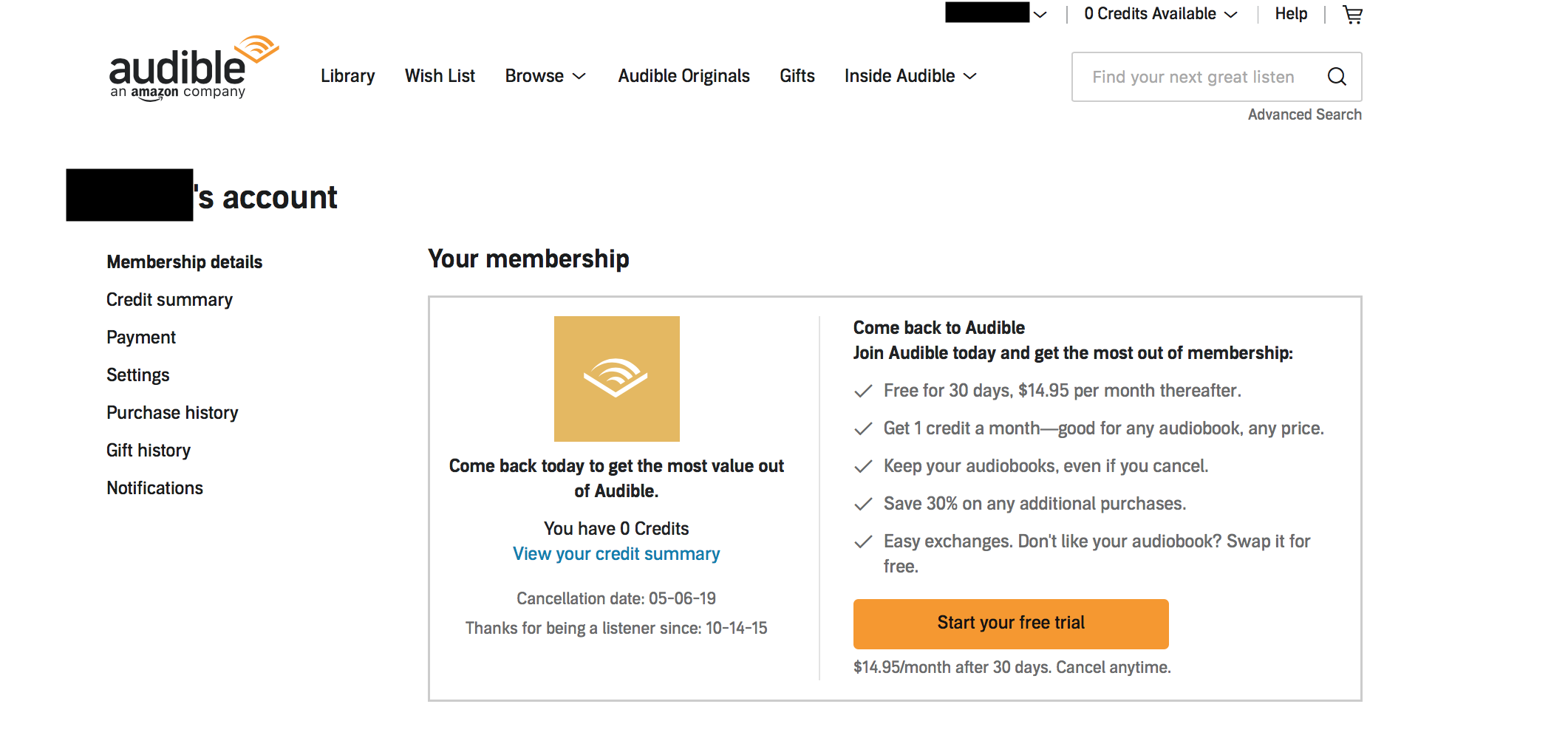 How To Cancel Audible: Your Guide With Screenshots | TBR