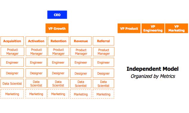 the metric-focused model