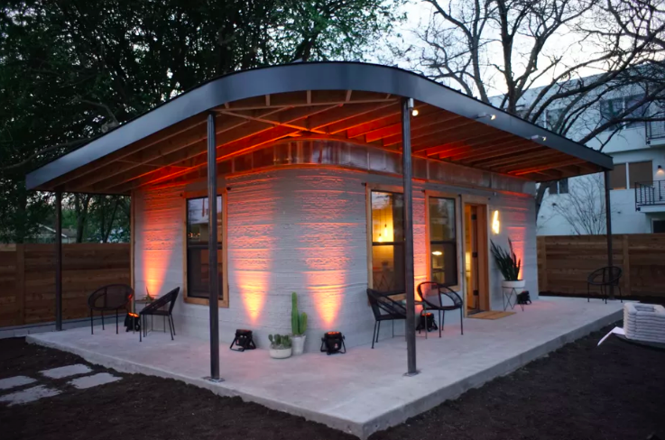Outstanding 3D Printed Tiny Homes Could Solve The Us Housing Crisis Home Interior And Landscaping Mentranervesignezvosmurscom