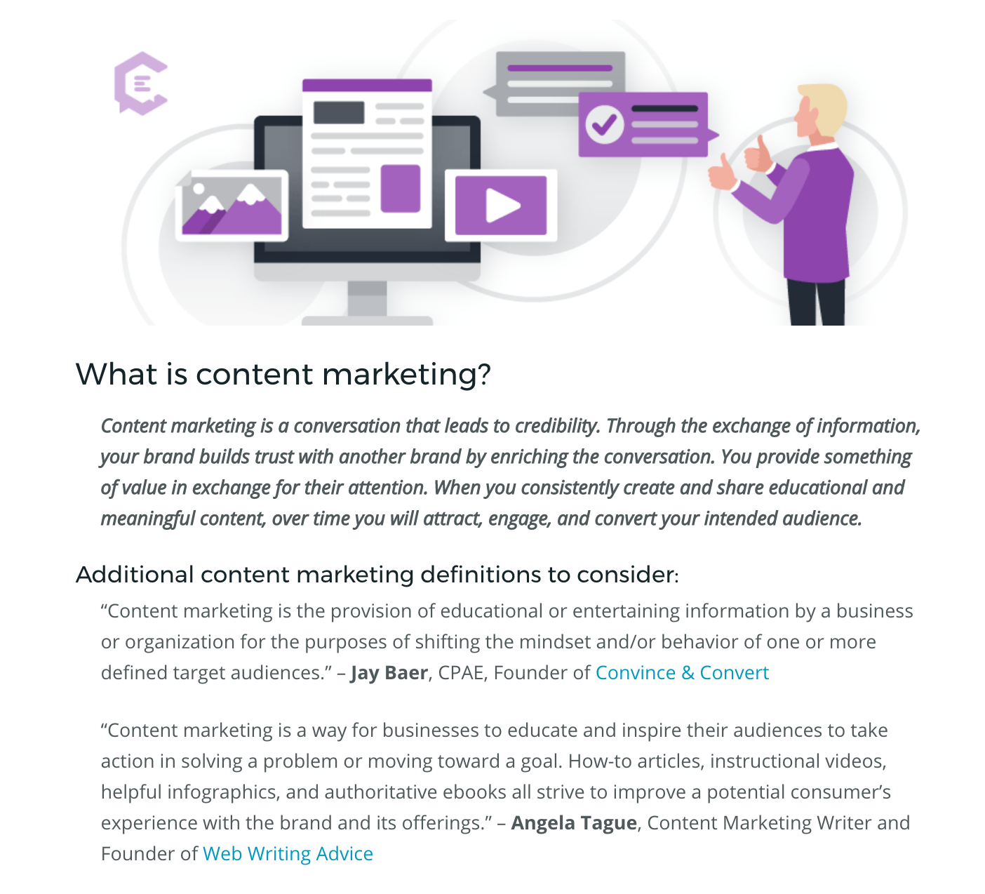 3,000+ word piece on ClearVoice... What is Content Marketing?