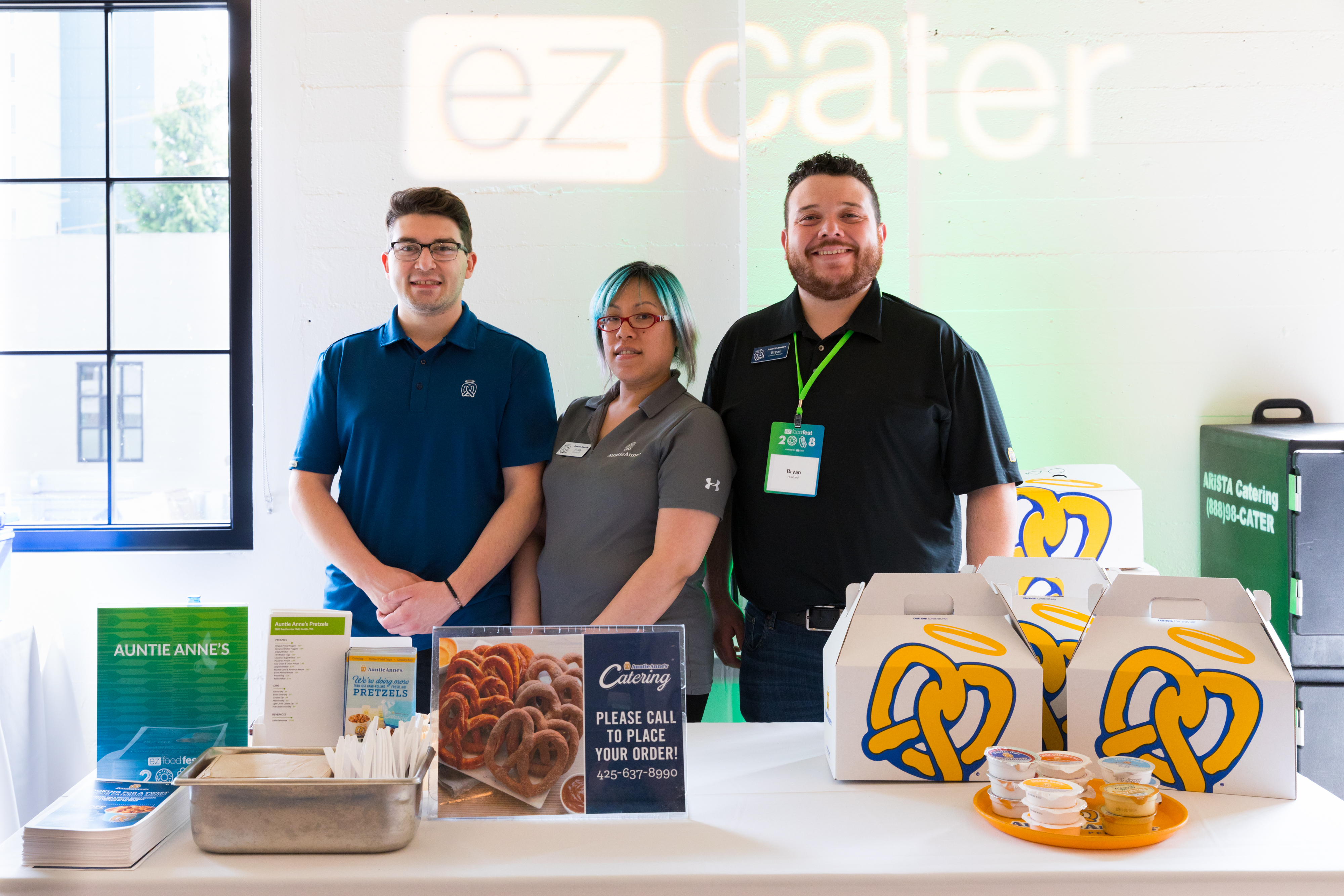 The ezCater event called ezFoodFest is a traveling food festival showcasing some of the best caterers in cities across the country.