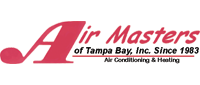 Website for Air Masters of Tampa Bay, Inc.