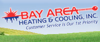 Website for Bay Area Heating and Cooling, Inc.