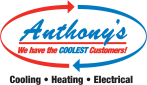 Website for Anthony's Cooling Heating Electrical