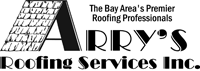 Website for Arry's Roofing Services, Inc.