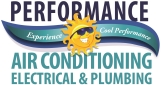 Website for Performance Air Conditioning, Electric, & Plumbing