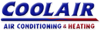 Website for CoolAir Conditioning, Inc.