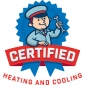 Website for Certified Heating and Cooling, Inc.
