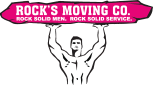 Website for Rock's Moving Company