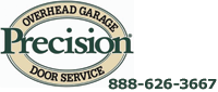 Website for Precision Overhead Garage Door