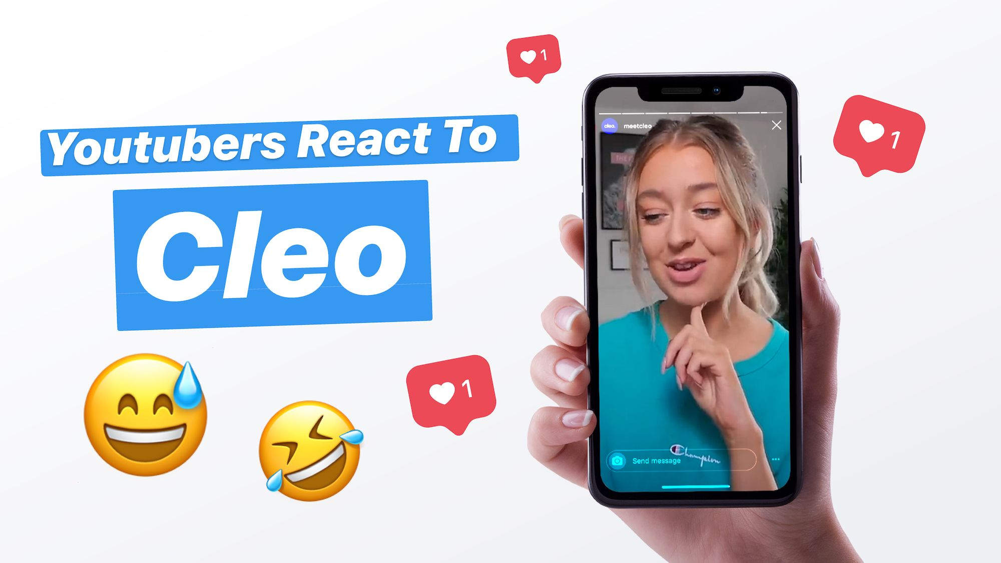 Youtubers react to Cleo