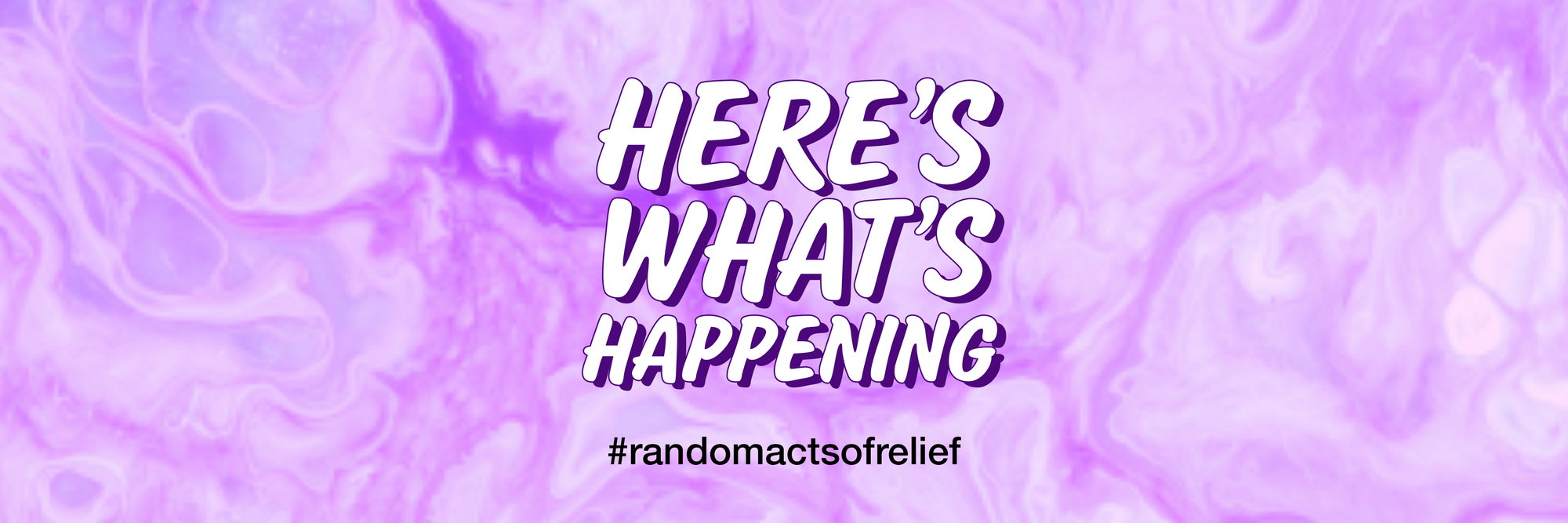 Random Acts of Relief, the story so far