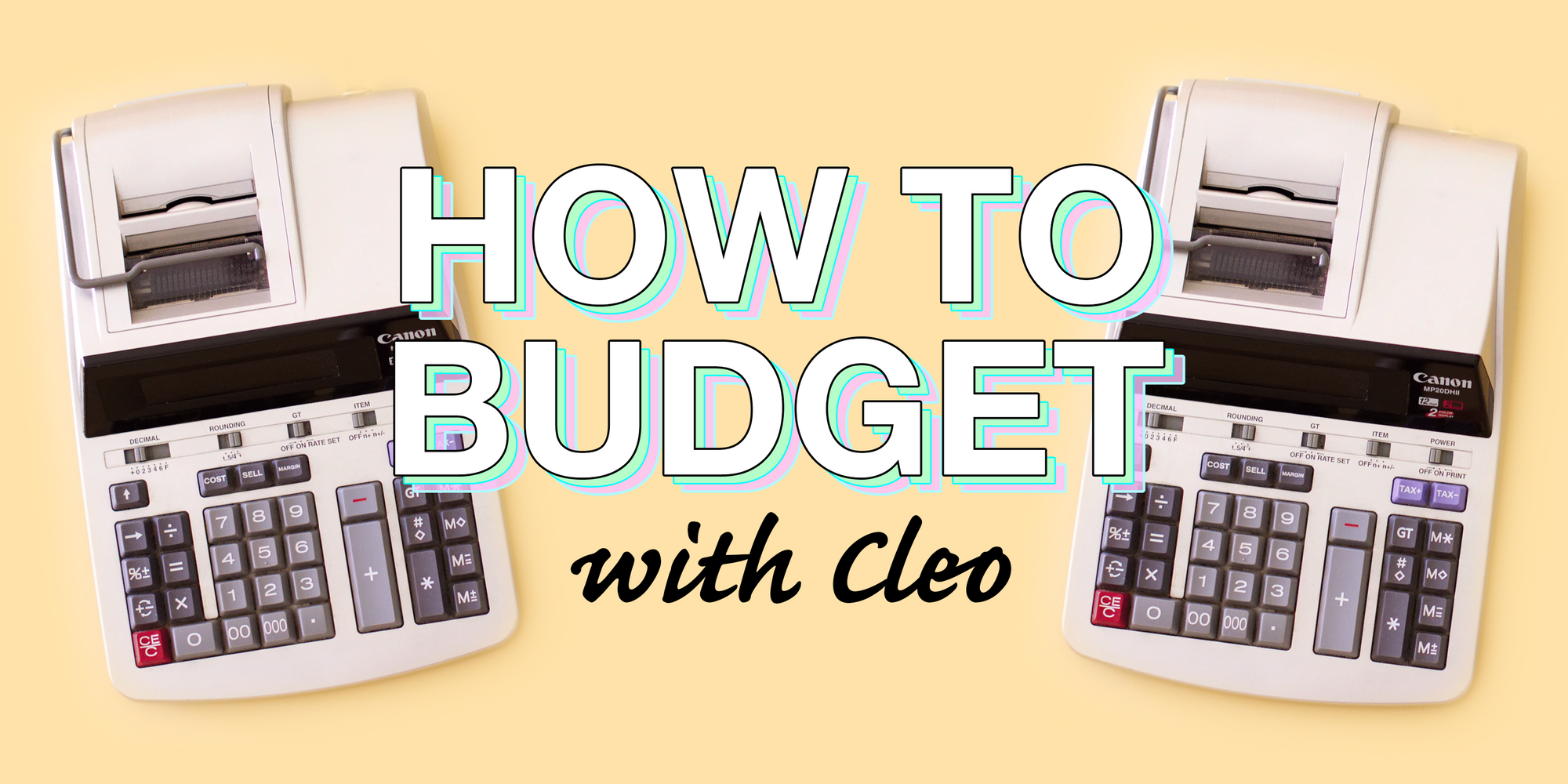 How to budget with Cleo