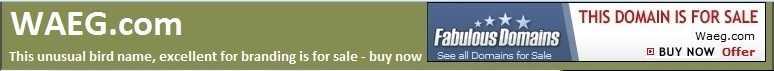 WAEG.com for sale