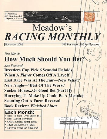 racing monthly