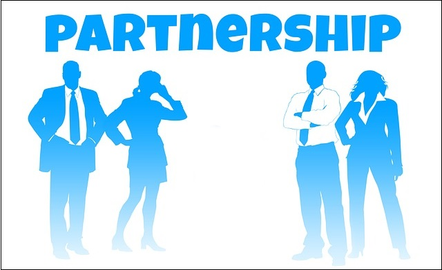 online business partnership