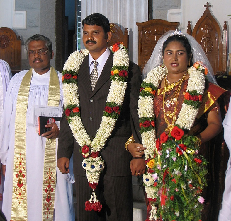 Indian Christian wedding