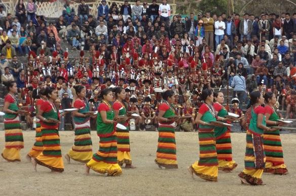 Nagaland India Hornbil Festival Kohima