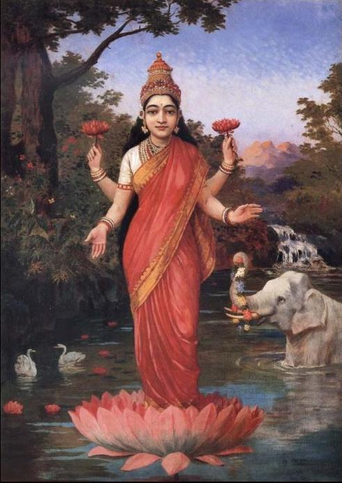 Goddess Lakshmi Paduka